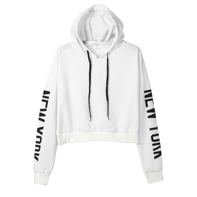 women winter hoodies and sweatshirts unique Letters Long Sleeve Hoodie  Sweatshirt Pullover Tops cool Streetwear Hoodies e00dde340