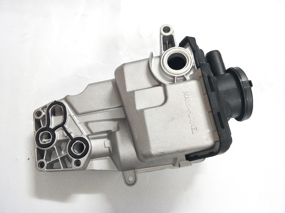 Oil Filter Housing for Volvo S80 S60 V70 C70 C30 S40 V40 V50 5 2.4L 2.5L turbo Cylinder 31338685