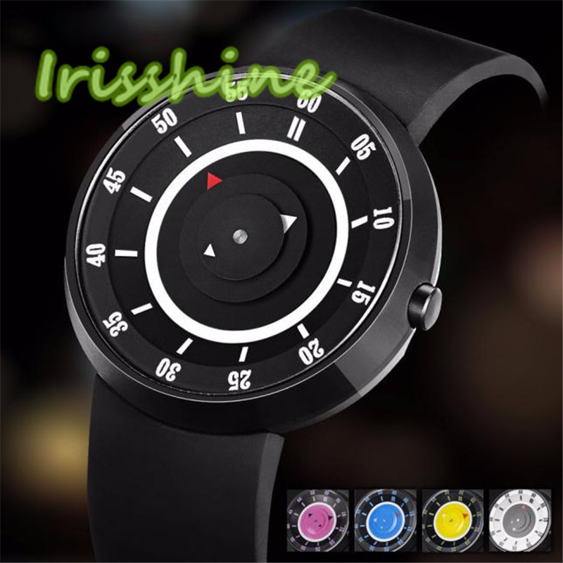 Irisshine A007 men Watches Fashion Men's Luxury Concept Stainless Steel Analog Quartz Sport Wrist Watch цена