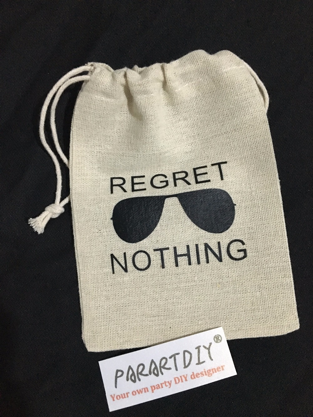 Personalized Regret Nothing Bachelorette Hangover bridal shower ...
