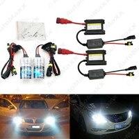 10 Sets Xenon HID Kit H1/H3/H7/H8/H10/H11/9005/9006 DC 12 V 35 Wát Xenon Bulb Đèn Kỹ Thuật Số Ballast Xe Headlight # J-4470