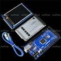 """3.2 """"TFT LCD de Toque + TFT 3.2 Polegada Escudo Mega Escudo + Mega2560 R3 com Cabo Usb Para Arduino kit"""