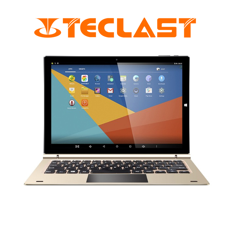 Teclast Tbook 10s 10.1 Inch 1920*1200 2 in 1 Tablet PC Dual Boot Windows 10+Android 5.1 Intel Z8350 Quad Core 4G RAM 64G ROM