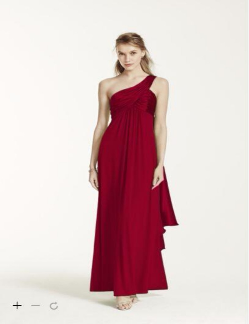 Compare prices on long bridesmaid dress with pockets online 2016 one shoulder bridesmaid dresses long jersey skirt with pleat bodice and cascade back f13185 gowns ombrellifo Choice Image