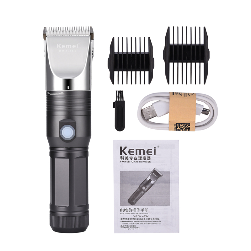 Professional Electric Hair Clipper Mens Cordless Hair Trimmer USB Rechargeable Fine Tuning Hair Cutting Machine To Haircut S50