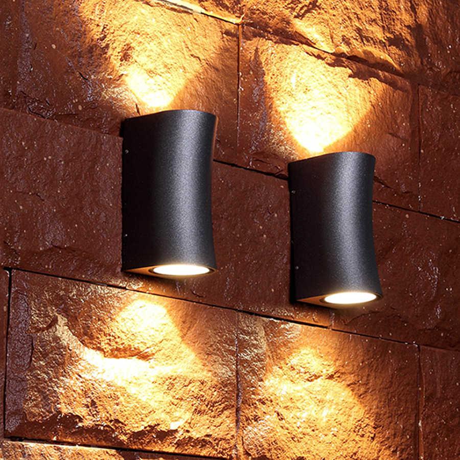 Thrisdar 10 Вт передняя дверь Светодиодная подсветка стены вниз открытый сад крыльцо