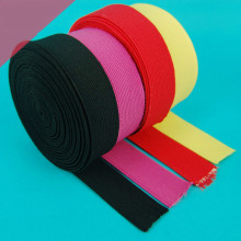 New Multi-Color Black White Pink Yellow 3MM-50MM Elastic band DIY Polyster Cotton