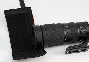 Image 5 - ROLANPRO pare soleil téléobjectif rabattable sur mesure pour Nikon AF S 200 500mm f/5.6E ED VR uniquement pour Nikon 200 500 f5.6