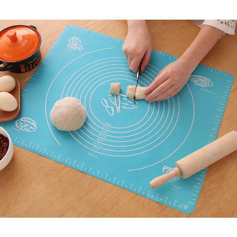 None Stick Silicone Baking Mat Sheet Pastry Pad Rolling