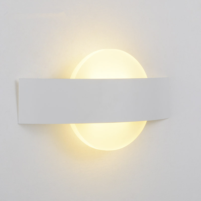 Moon Design Wall Lamp Applique Murale Luminaire Arandela Wandlamp Lampara Pared Mirror Bathroom Lights Sconce Modern