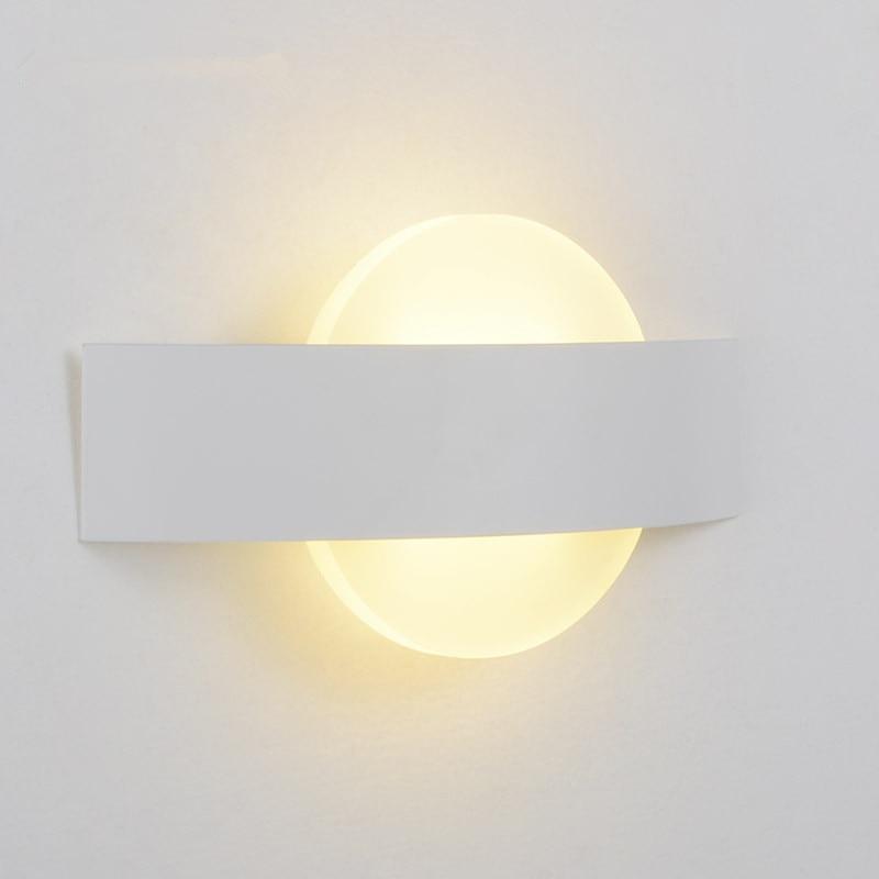 ムーンデザイン壁ランプアップリケ Murale 照明器具 Arandela Wandlamp ランパラ比べミラー浴室灯燭台現代壁ライト  グループ上の ライト & 照明 からの LED 室内壁掛け照明 の中 1