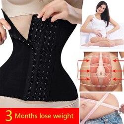 Corset Body Shaper Waist Trainer Shaperwear Bustiers Corsets Slimming Belt Underbust Modeling Strap Burlesque Gaine Ventre faja