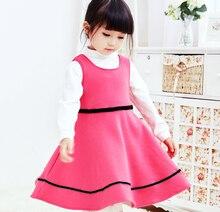 6831 лет моды короткий рукав стиль платья для маленьких девочек для дня рождения летнее платье принцессы детская одежда для новорожденных
