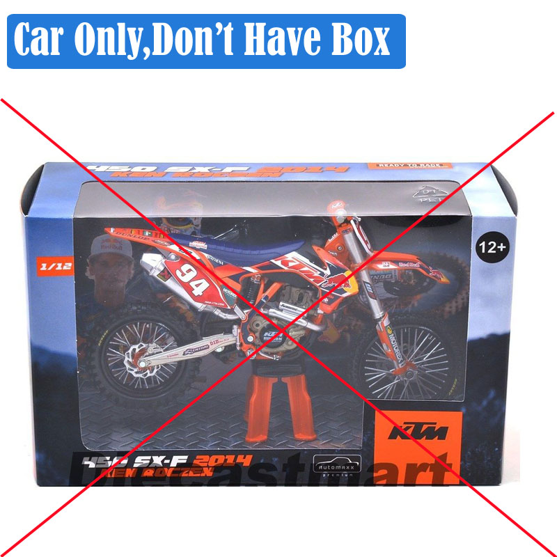 Image 5 - 1 12 scale Automaxx mini KTM 350 EXC F AMV DHL Motorcycle Diecast Model Motocross enduro motor dirt bike toys vehicle car kid's-in Diecasts & Toy Vehicles from Toys & Hobbies