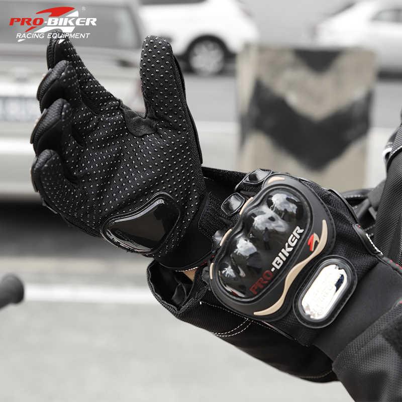新着フルフィンガーバイクグローブモトクロス Luvas グリーン Gants Guantes モト保護具手袋通気性