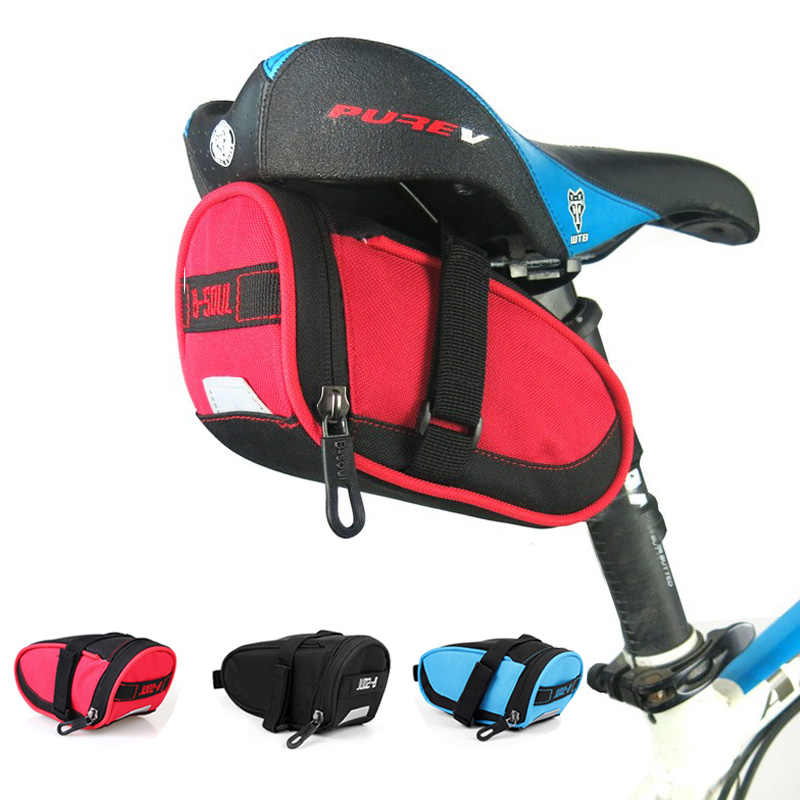 Cycling Bicycle Pannier Saddle Bag Bike Seat Rear Tail Storage Bag Waterproof