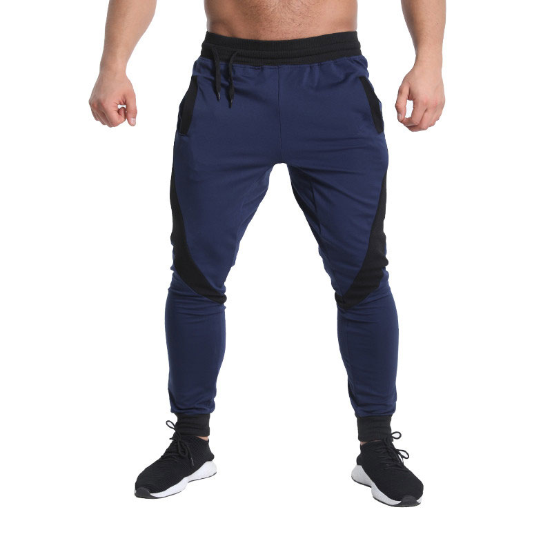 2018 Men's Jogger Pants Cotton Male Bodybuilding Fitness Pants Casual Color Matching Pants Trousers Sweatpants For Man Making Things Convenient For The People