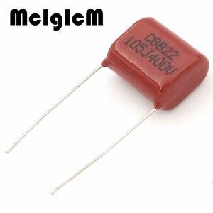 Image 2 - Mcigicm 1000 Stuks 1 Uf 105 400V Cbb Polypropyleen Film Condensator Pitch 15 Mm 105 1 Uf 400V