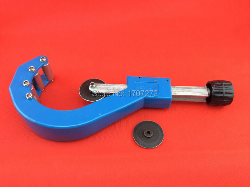 купить DN 50-110mm PVC pipe cutters, trunking dual-purpose scissors, also for PPR pipe, composite pipe, a blade as gift недорого