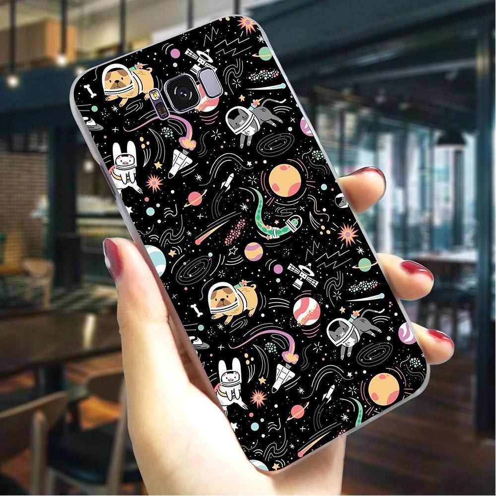 Boo Espaço Aéreo Nota Tampa Da Caixa Do Telefone Para Samsung M20 8 9 M10/M30 Galaxy S6/S7 Borda s8/S9/S10 Plus S10e Casos Difíceis
