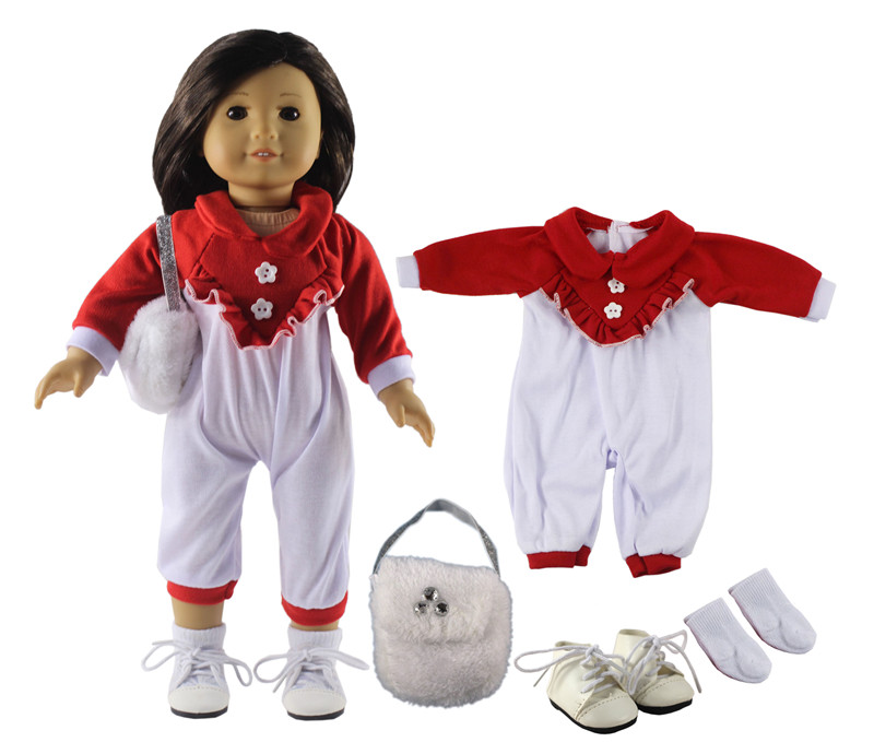 """Dolls Dress Clothes Outfits Pajamas Shoes for 18/"""" American Girl Madame Alexander"""