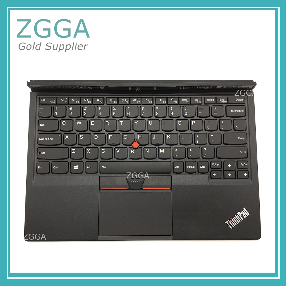New Original for Lenovo Thinkpad X1 Tablet Thin Keyboard 20GH 20GG US English Backlit Backlight Palmrest Touchpad Black 01AW600 yamaha yrs 20gg in c
