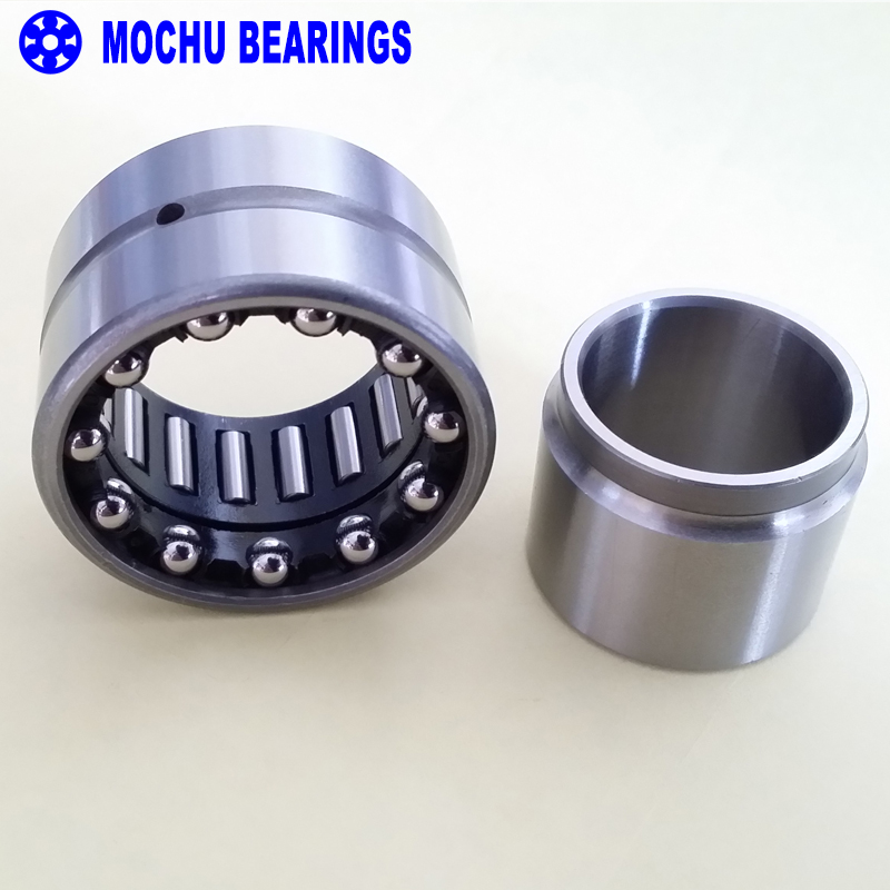 1piece NKIA5911 NKIA5911-XL 55X80X34 NKIA MOCHU Combined Needle Roller Bearings Needle Roller  Angular Contact Ball Bearing complex bearings nkib5901 nkib5902 nkib5903 nkib5904 nkib5905 nkib5906 1 pc needle roller angular contact ball bearing