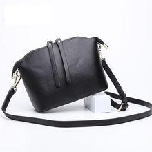 free transport new trend model girls's single shoulder bag girl crossbody bag feminina bolsa 100% real cow leather-based wholesale