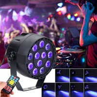 Best Promotion UV Purple LED Stage Light DMX Stage Lighting Effect Par Lamp For Party Disco