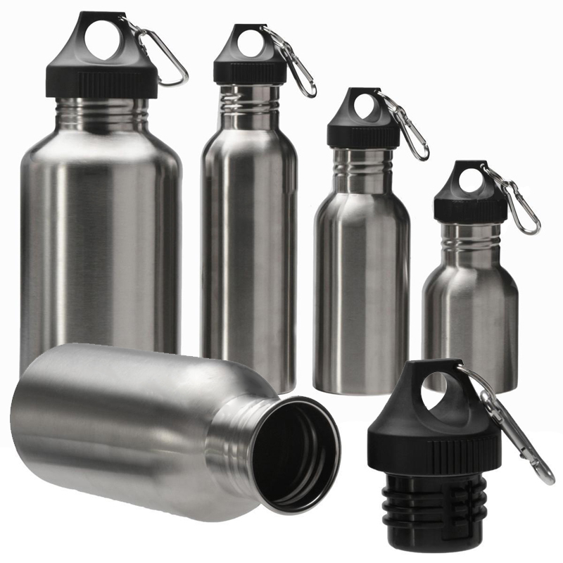 400-700ML Water Drinking Bottle Cup Stainless Steel Vacuum Sports Cycle Travel