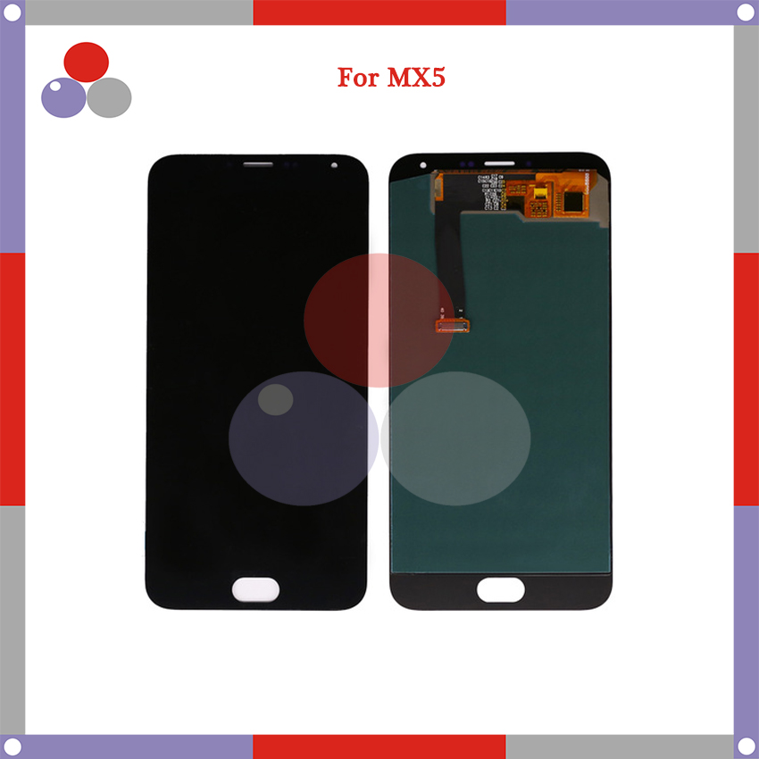 10pcs/lot 5.5'' For Meizu MX5 LCD Display touch screen with digitizer full Assembly replacement Parts