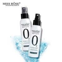 Miss Rose 120ML Face Makeup Setting Spray Fix Mist Foundation Oil-control Matte Finishing Long Lasting Moisturizing Make Up