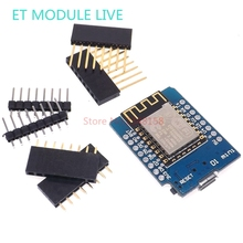 D1 mini – Mini NodeMcu 4M bytes Lua WIFI Internet of Things development board based ESP8266 by WeMos