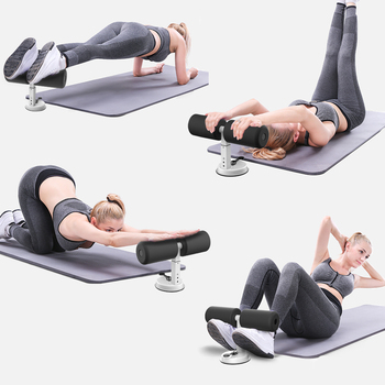 Sit Up Assistant, Abdominal Core Workout Fitness, Adjustable Sit Ups Exercise 11