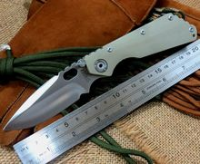Good Sales ST Camping Knives Tactical Survival Folding Pocket Knife 8Cr13Wov 56HRC Blade G10 Handle Outdoors hunting Tool