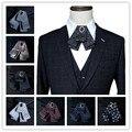 Britânico multi layer bow gola laço 20 estilos podem ser escolhidos vestido do negócio dos homens up padrinho de casamento do noivo gravata borboleta broche Coreano
