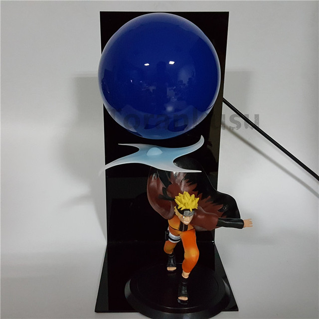 Naruto Action Figure Led Light Rasengan Model Toy Anime Naruto Shippuden Uzumaki Naruto Figurine Sasuke Namikaze Minato 5