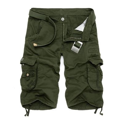 Military Cargo Shorts Men Summer Camouflage Pure Cotton Brand Clothing Comfortable Men Tactical Camo Cargo Shorts 14