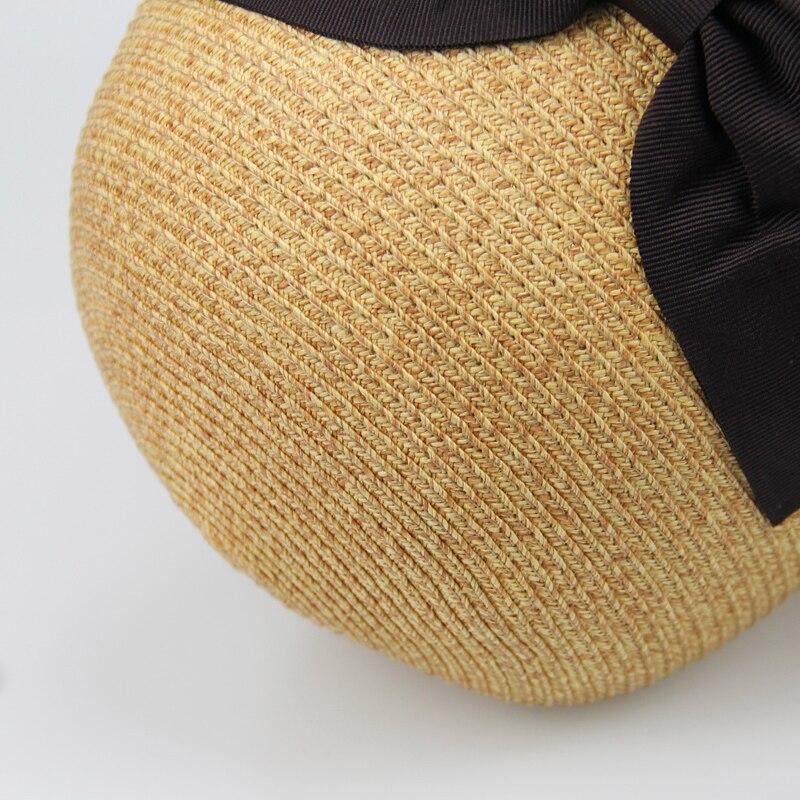 Yeni Gəlmə Moda Günəş Şapkaları Qadın Tətili Yay Çimərliyi - Geyim aksesuarları - Fotoqrafiya 4