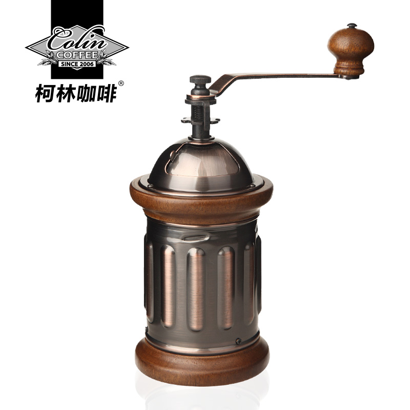 Retro Type Colin Coffee Beans Manual Grinder Hand Household Coffee Machine grinders machine manual coffee machine household grinder mini grinder