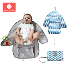 Baby Portable Diaper Changing Pads Foldable Waterproof Travel Infant Station Multifunction Newborn Nappy Mat