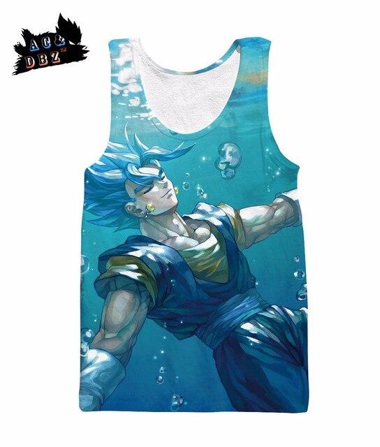 29bcdb0764d7a AC DBZ New Men s and Women s Sleeveless Top Super Saiyan Vestet Summer  Fashion 3D Printed Sleeveless Tank