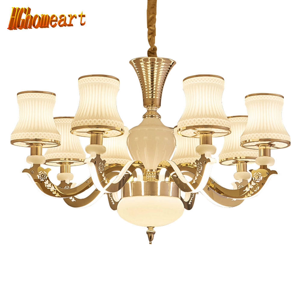 hghomeart chandeliers european chandelier zinc alloy imitation jade chandelier modern bedroom. Black Bedroom Furniture Sets. Home Design Ideas