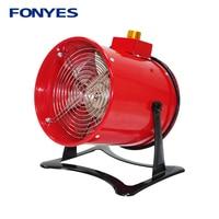 8 axial ventilation fan mini metal standing fan desk blower high speed ventilator table portable exhaust fan 200mm 220V