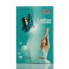 3 коробки поставки) Lvshou бабочка потеря веса патч тела живота запястье похудение