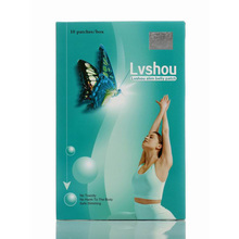 (3 Boxes Supply) Lvshou butterfly weight loss patch body belly wrist slimming