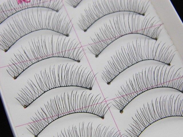 d5d8bdf8b06 30 Pairs Taiwan handmade false fake eyelashes 217 # wholesale transparent  lines Eyelashes