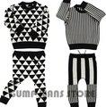 2015 Nueva Bobo Choses Otoño Invierno Pantalones Para Bebé Muchachas de Los Muchachos de Los Niños Fija Los Suéteres Suéter de Punto Camisas