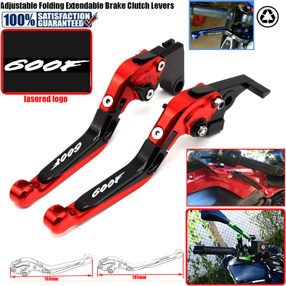 For Honda CBR600F CBR 600F 600 F 2011-2014 2013 2012 CNC Motorcycle Adjustable Folding Extendable Clutch Brake Levers Hot Sale