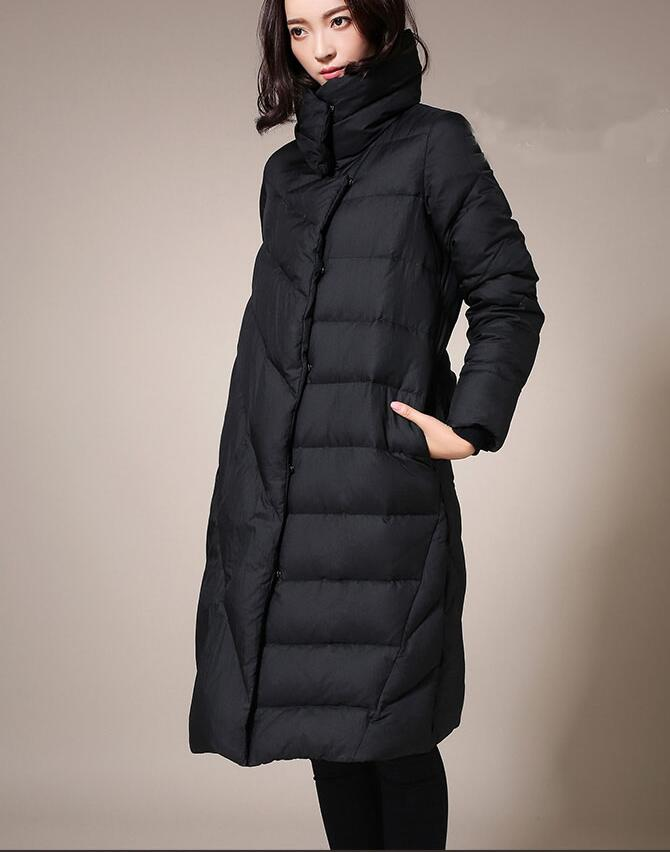 d402d49e8 US $138.0 |Plus Size Women Down Jacket High Collar Woman Down Coat  Personality Winter Jacket-in Down Coats from Women's Clothing on  Aliexpress.com | ...